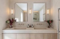 Regram @echlin_studio ???? Luxury bathroom design featuring Viero's Marmorin Hydro textured walls. This gorgeous finish was installed by our good friends @henryvandervijver ???????? . . #HVART #viero #vierouk #polishedplaster #limestone #luxuryinteriors #luxurybathroom #bathroomdesign #bespokeinteriors #hisandherssinks #doublesink #minimalbathroom #marmorino #venetianplaster