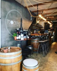 Feeling refreshed after spending the bank holiday weekend in Europe. We stumbled across this lovely little wine bar built into the cave on the waterfront in Chania. Always searching out polished plaster inspo ???????? . . . #labodega #labodegachania #winebar #bistro #plasterwalls #polishedplaster #concreteeffect #venetianplaster #texturedplaster #decorativeplaster #texturedwalls #industrialinterior #greece #chania #crete #cavebar #weekend #easterweekend #interiordesign #interiorinspo