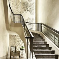 New on the blog; an interview with surface designers @dkt_artworks #meettheclients #interiordesign #interiordesigners #creatives #architects #bespokedesign #luxuryinteriors #architecture #surfacedesign #staircase #polishedplaster #blog #partnership