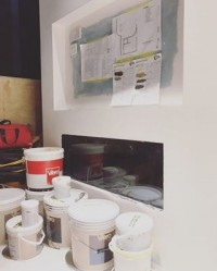 Pre plan & preparation #behindthescenes #viero #vierouk #interiordesign #architect #architecture #bespokedesign #bespokeinteriors #luxuryinteriors #prepwork #groundwork #applicator #specialistdecor