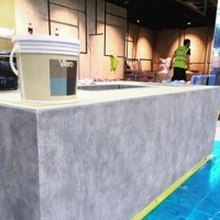Not just for the walls, we're coating a table today! #viero #vierouk #concreteinteriors #bespokeinteriors #luxuryinteriors #retailinterior #polishedplaster #retailspace #surfacedesign #reading