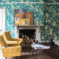 Would you dare to do all-over wallpaper or texture? Read our guest blogger @melanielissackinteriors tips for interior updates in 2018 *link in bio* #viero #vierouk #melanielissack #interiordesign #interiorblog #guestblogger #interiornews #interiortrends #floralwallpaper #farrowandball #featurewalls #luxuryinteriors #lifestyle