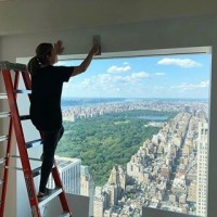 Our Viero UK team & @jo_poulton_studio have just finished a collaboration in New York! Have you ever seen a more motivating view?! #regram ???? @jo_poulton_studio . . . #skyhigh #skyscraper #newyork #manhattan #centralpark #newyorkskyline #newyorkview #roomwithaview #dreamjob #vieroontour #polishedplaster #plasterwalls #texturedplaster #decorativeplaster #luxuryhome #luxuryproperty #newyorkproperty #plasterapplicator #architects #architecture #surfacedesign #interiordesign